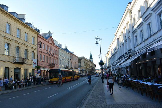 サラエボよりブダペスト経由で、約20年ぶりのワルシャワに行ってきました。