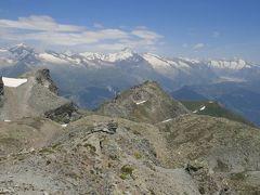 シンプロン峠からシュピッツホルンに登る