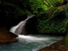 ◆青葉若葉の阿武隈川源流の滝めぐり