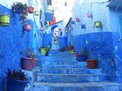 モロッコを往く、おじさん一人旅14日間 no7 シャウエンへ移動し青の街を歩く