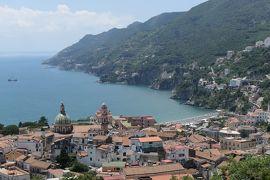美しき南イタリア旅行♪ Vol.2(第1日)☆Napoli→Agropoli:美しいヴィエトリ・スル・マーレ(Vietri sul Mare)を眺めて♪