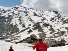 スイス・アルプスの峠めぐり2018 ゴッタルド峠は雪の中