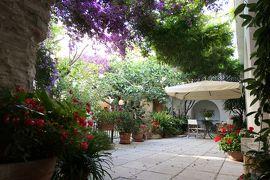 美しき南イタリア旅行♪ Vol.6(第1日)☆Agropoli:アグロポリのホテル「Resort San Francesco」美しい回廊やパテオ♪