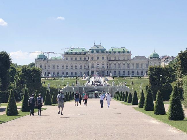2018年7月のヨーロッパ旅行記9<br /><br />ウィーンを適当に散策2日目<br />