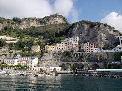 南イタリアを二人でまわる(サレルノ滞在 アマルフィ編)