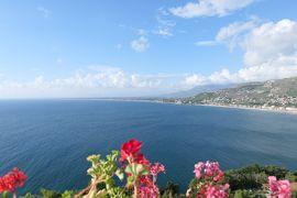美しき南イタリア旅行♪ Vol.8(第1日)☆Agropoli:「アグロポリ城」カフェとパノラマ♪