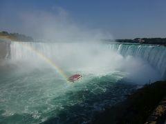憧れの夏のカナダ旅行その� 大迫力ナイアガラの滝を空・陸・水上から満喫