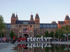 春のオランダ vol.1 出発~アムステルダム街歩き