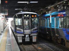 2018年7月北陸おでかけパスの旅1(各駅停車乗り継いで福井駅へ)
