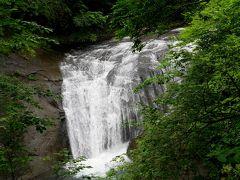 2018.6札幌出張旅行2-恵庭渓谷,白扇の滝,ラルマナイの滝,三段の滝,漁川ダム