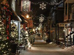 クリスマスのケベックシティーとモントリオール