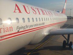 オーストリア航空 ウィーン→フランクフルト A320 エコノミークラス 搭乗記