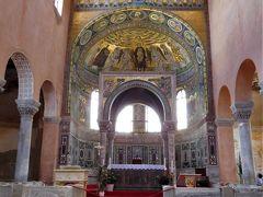 2018年6月 東欧 3日目 その2 ポレチュで世界遺産エウフラシウス聖堂を見学
