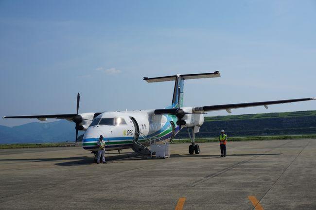 今年は早めの夏休み。<br />海の日の3連休に有給をくっつけた。<br />島に行きたい…<br />どこかの島に行きたいけど、<br />沖縄も北海道も飛行機が高い・・・<br /><br />そこで、いろいろ検索した結果、<br />値段がリーズナブルだった<br />壱岐に行くことにした。<br /><br />・1日目 壱岐へのフライトと宿泊<br />・2日目 路線バスで巡る壱岐<br />・3日目 島原鉄道の旅<br />・4日目 佐世保経由長崎空港行き