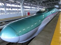 東北新幹線『はやぶさ』に乗って来ました♪おときゅうパスで行く日帰り旅3日目