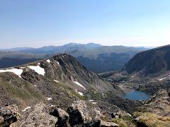 2018年夏のロッキーマウンテン国立公園トレッキングの旅