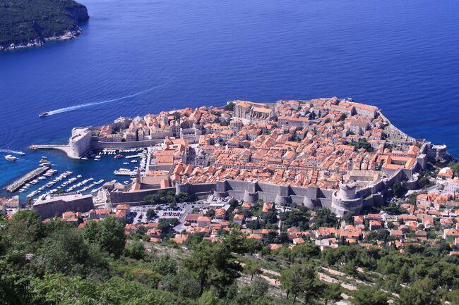 ■ クロアチアの旅 (9)アドリア海の真珠「ドブロブニク」