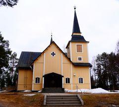 23回目のフィンランド旅行4-Ranua村Simojarviのコテージでゆっくり 5月の雪