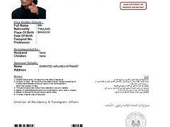 モルディビアンハネムーン 番外編 - UAEのビザを取得せよ!