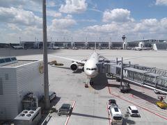 1-1 エティハド航空5フライト8か国周遊: アブダビ経由ミュンヘンへ発つ
