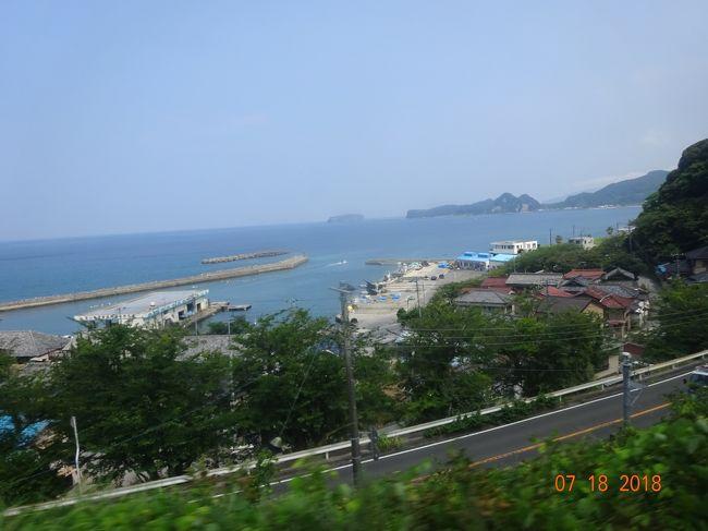南房総から、バスと列車で松戸に帰る。