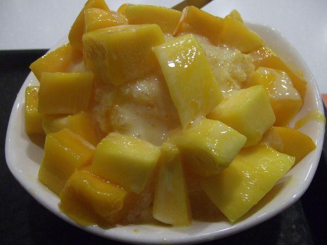 日本が暑すぎるので、かき氷編だけ先にアップします@台北 おまけのマンゴーも