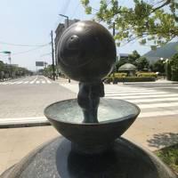 島根でベタ踏み坂と鳥取で水木しげる先生と鬼太郎