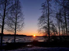 23回目のフィンランド旅行9-ラヌア動物園のレストラン,Markkuさんちへ,Simojarviの日没,Simojarvi墓地