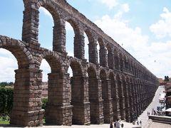 スペイン・セニョーラ 一人旅�【セゴビアの水道橋は圧巻!アルカサスを鑑賞】