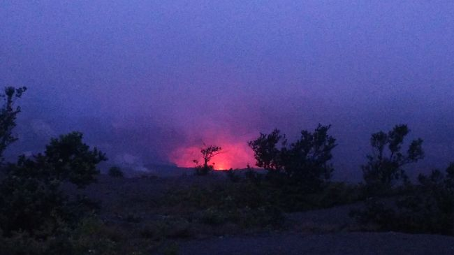 ★初めてのハワイ!女3人旅★ <二日目②:念願の火山見学!半日オプショナルツアー>