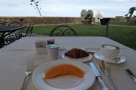 美しき南イタリア旅行♪ Vol.45(第3日)☆Cittadella del Capo:「Palazzo del Capo」の朝食は庭園で♪