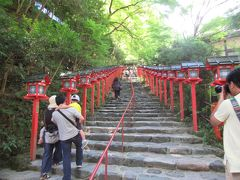 京都 貴船神社 涼を求めて。