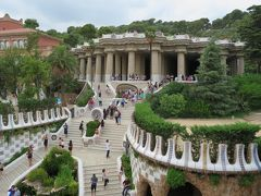 2017スペイン旅行Part6 セビリア~バルセロナ(グエル公園、カサ・バトリョ)