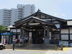 2018梅雨、東京と千葉の名城巡り(1/9):7月1日(1):八王子城(1):名古屋から東京経由八王子へ、バスで八王子城へ、ガイダンス施設