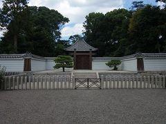 熱波災害の京都「伏見街道往還」の銀輪行 深草十二陵他を巡る