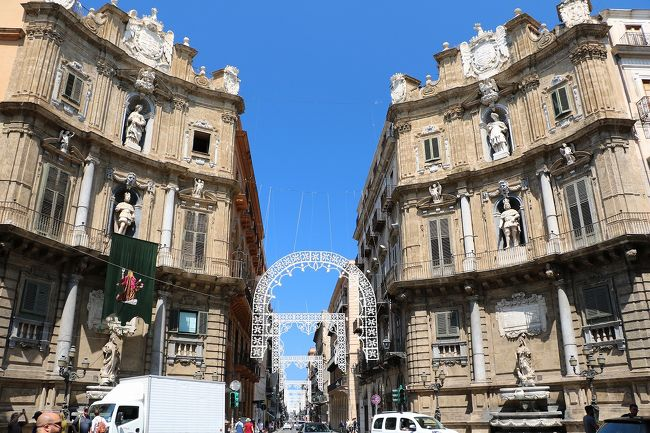 美しきシチリア島と南イタリアの旅Ⅰ(出国~パレルモ観光編)