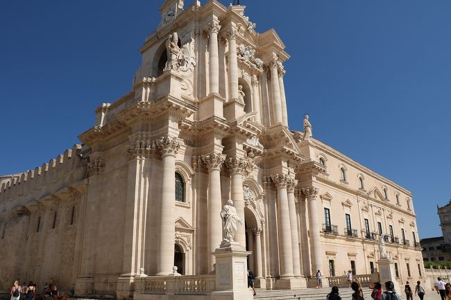 美しきシチリア島と南イタリアの旅Ⅴ(シラクーサ観光編)