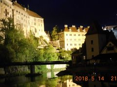 春のチェコとウィーンを巡る(チェコ編) 14 6日目② チェスキークルムロフ①