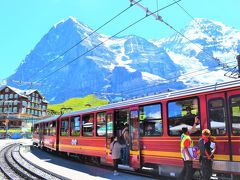 スイス、半端ないってー☆*. 絶景スイス 2018 ④ ユングフラウ鉄道で行こう!トップ・オブ・ヨーロッパは本日も晴天なり~☆