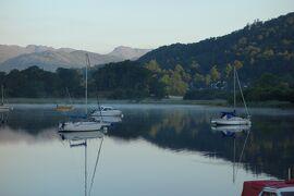 湖水地方 ウィンダミア湖遊覧、湖畔散策、蒸気機関車乗車