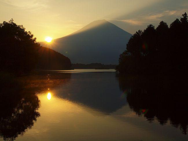 3回目の休暇村富士宿泊 リニューアルしたビュッフェを楽しむ 早朝の朝日に輝く美しい富士山