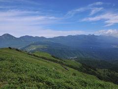 台風が来る前に高原へ~信州車山高原と諏訪湖の夕景~