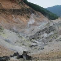 初夏の北海道旅行・3日目・登別温泉観光・支笏湖遊覧・富良野へ
