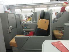 アリタリア航空ビジネスクラス トロントからローマ