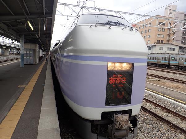 長野旅(14)【終】引退間近の特急スーパーあずさで山賊焼弁当