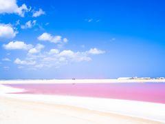 カラフルメキシコ★ピンクラグーン&ターコイズブルーのカリブ海