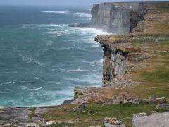アイルランド旅行10日間(アラン諸島のイニシュモア島に上陸、断崖に建てられた古代要塞ドン・エンガス))