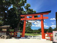 京都散歩(2) 北山通り 上賀茂神社、下鴨神社