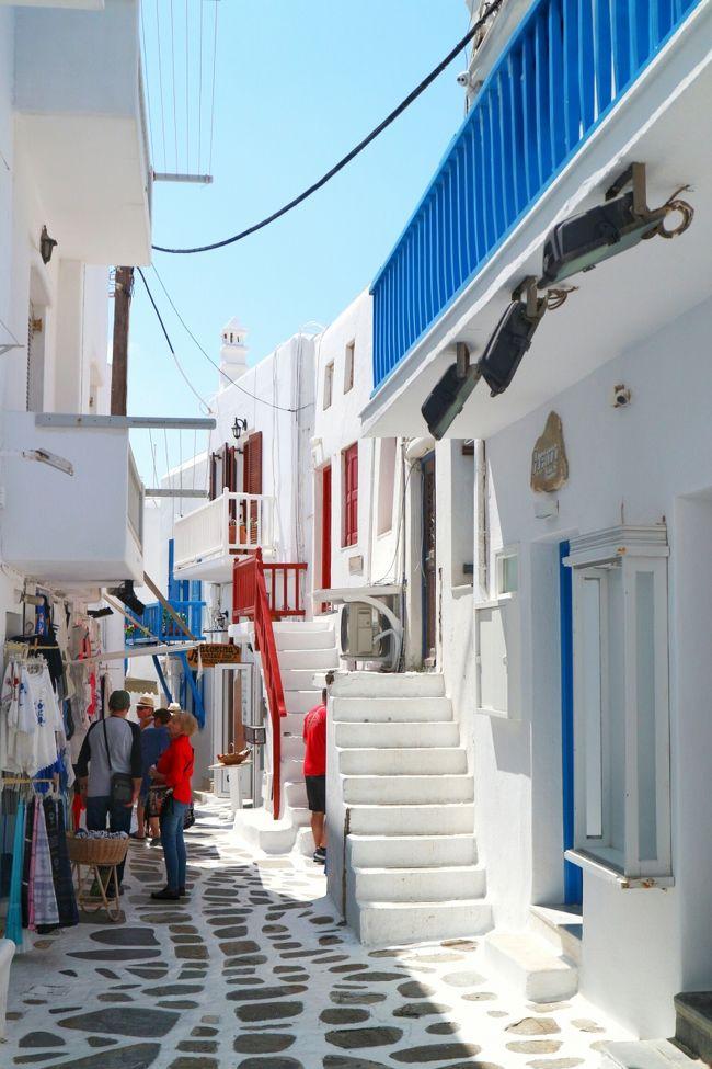 2018ハネムーン ギリシャ2-3日目 絵本のような島 ミコノス島』ミコノス ...