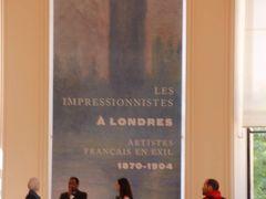 プティ・パレでImpressionists in London展とフランスが勝利で大騒動